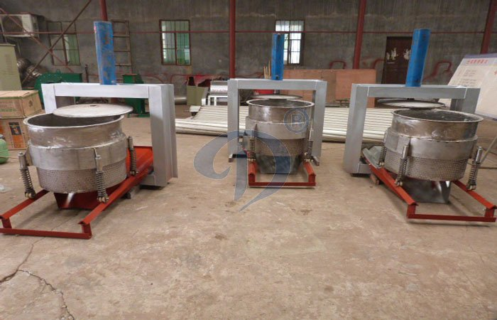 cassava dewatering hydraulic pressing machine