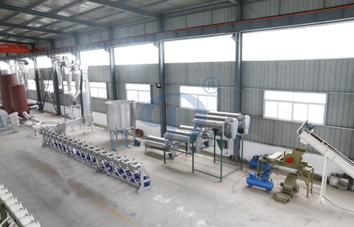 potato starch processing line machine