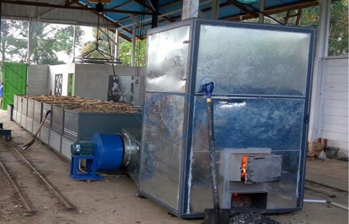 cassava chips drying machine