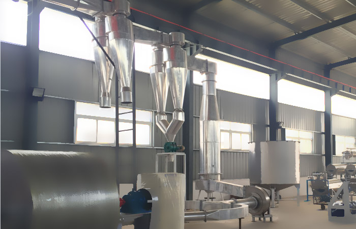Cassava flour processing machine