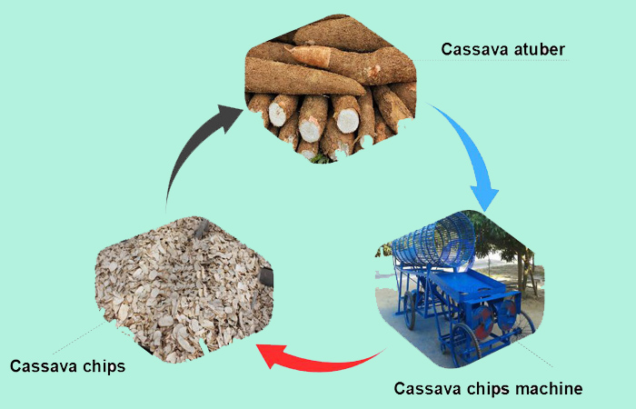 Cassava machinery