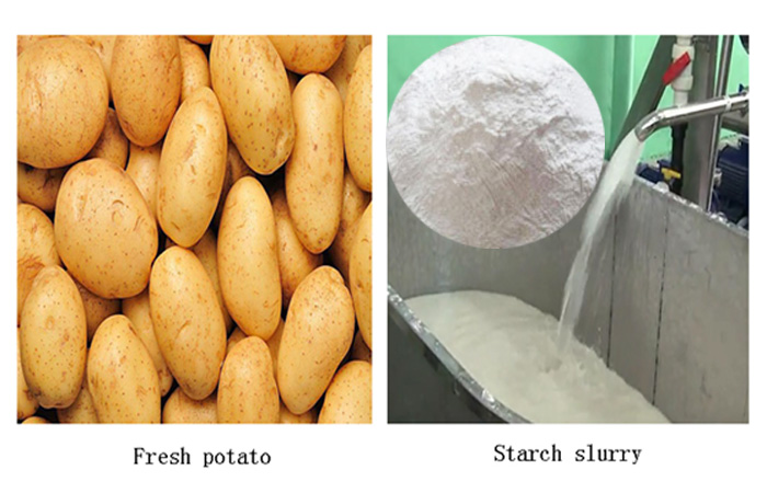 How do you get the starch out of potatoes