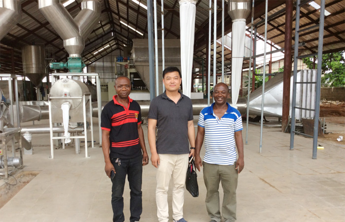 Turn-key project of cassava starch plant