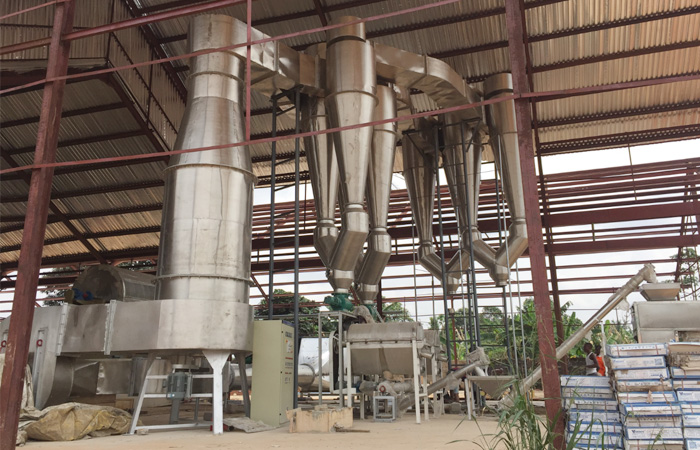 Cassava starch manufacturing plant project report
