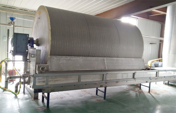sweet potato starch production machine