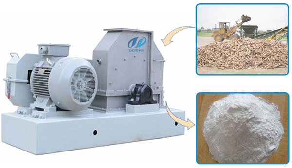 tapioca flour production machine