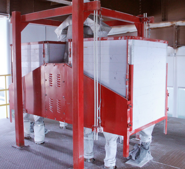 cassava starch sieving machine