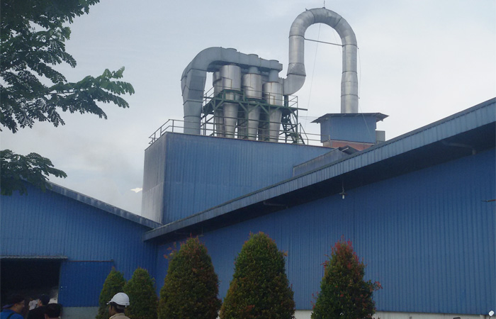 20t/h cassava starch processing plant installed in Indonesia