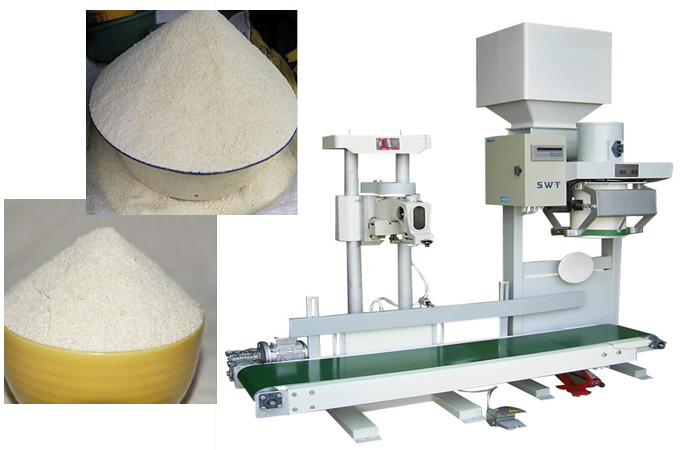 Garri production and packaging