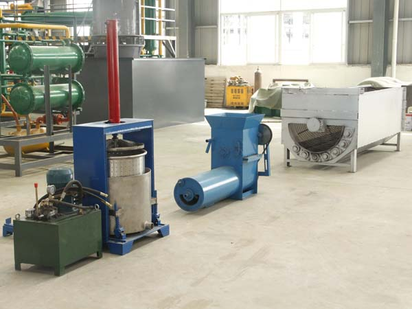 Garri processing machine working process