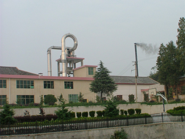 Cassava starch processing factory installed in Medan, Indonesia