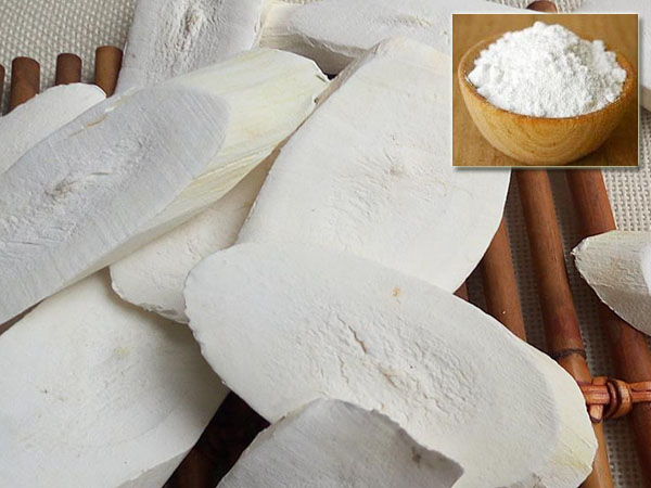 How to produce starch from cassava chips?
