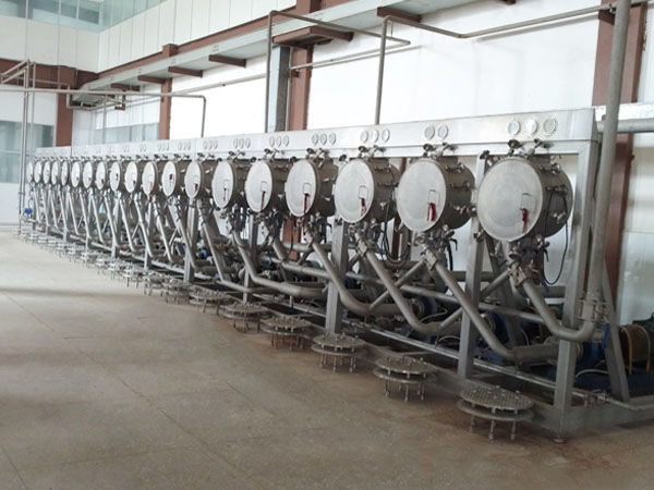 Starch hydrocyclone station,fine white starch production key equipment