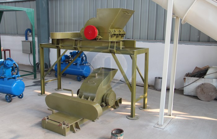 potato starch crusher machine